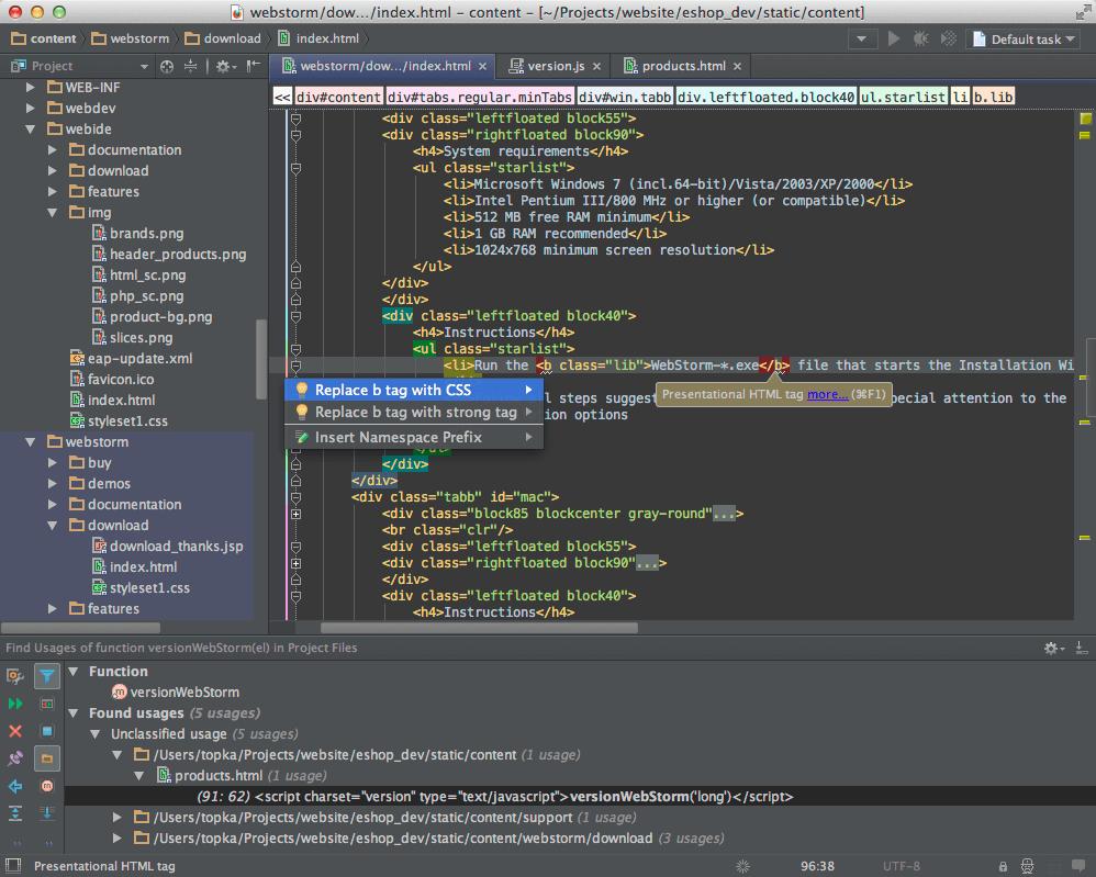 Escolhendo a IDE: PHP Storm
