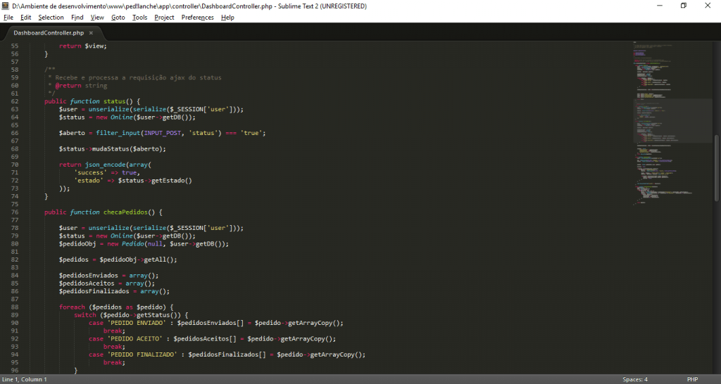 Escolhendo a IDE: Sublime Text 2